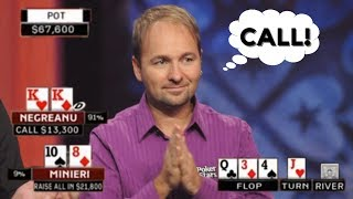 When You Move ALL IN Against Daniel Negreanu And Regret It!