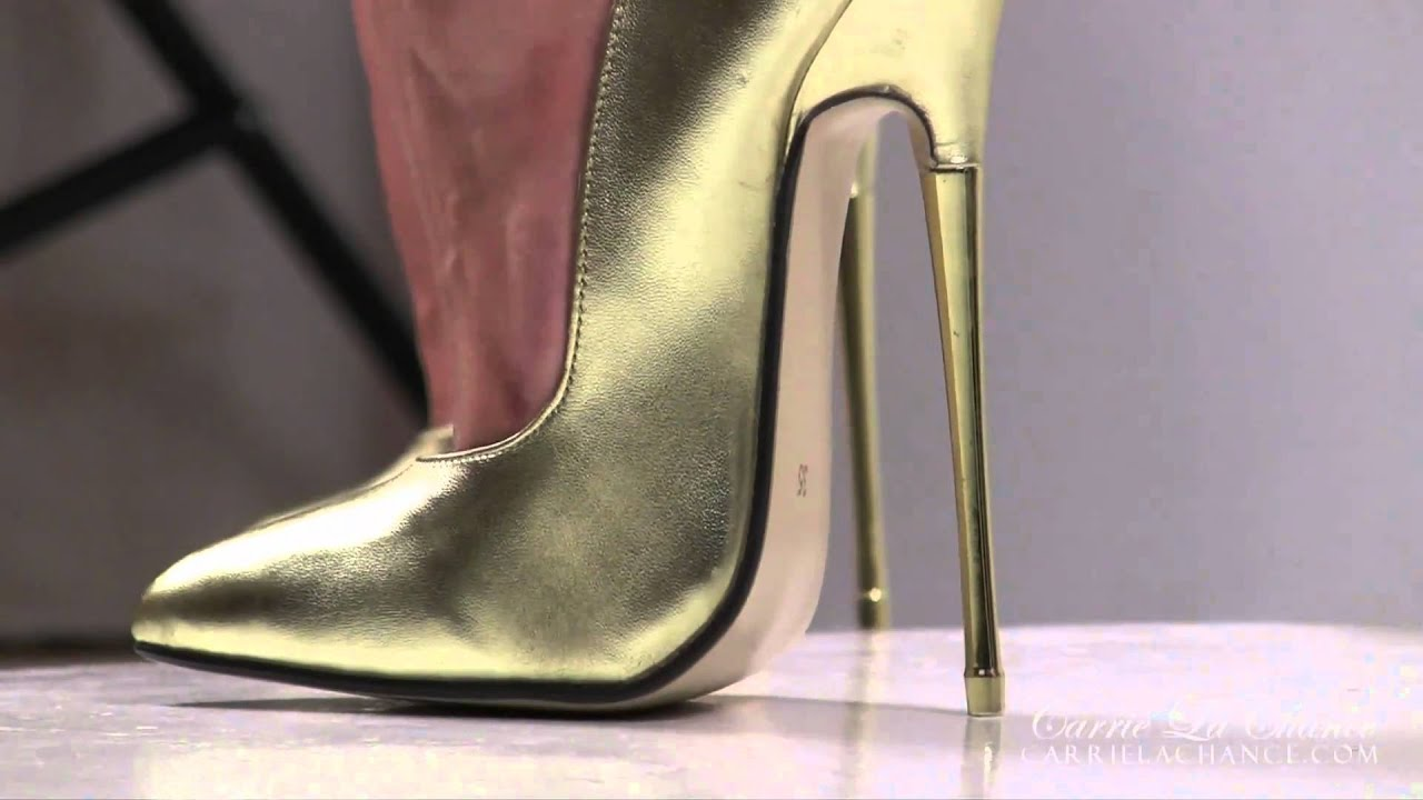 ForeverHeels: Carrie LaChance wears style SP16 High Heels ...