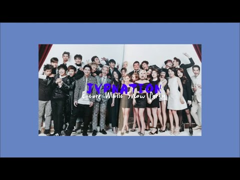 JYP Nation Tradition Moments @ Music Show & Year-Ended Award Show