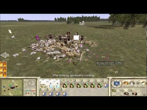 Rome Total War Online Battle #2059: six-player Free For All