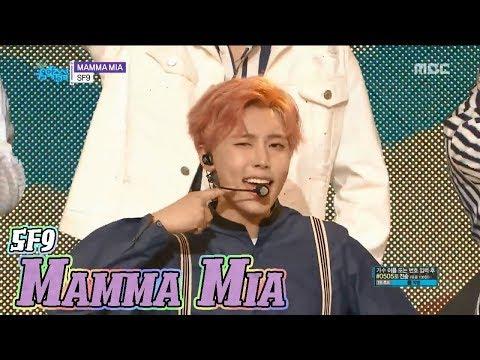 [HOT] SF9 - MAMMA MIA, 에스에프나인 - 맘마미아 Show Music core 20180407