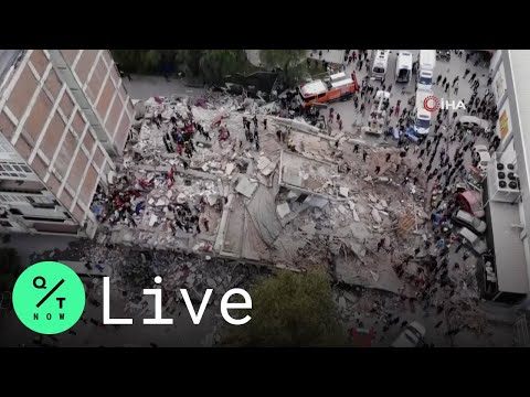 LIVE: Strong Earthquake in Aegean Sea Shakes Turkey and Greece, Killing At Least 4