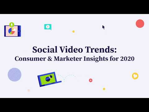 We surveyed consumers and marketers to learn how the growth of video is shaping social media habits in 2019, and what it means for businesses in 2020.