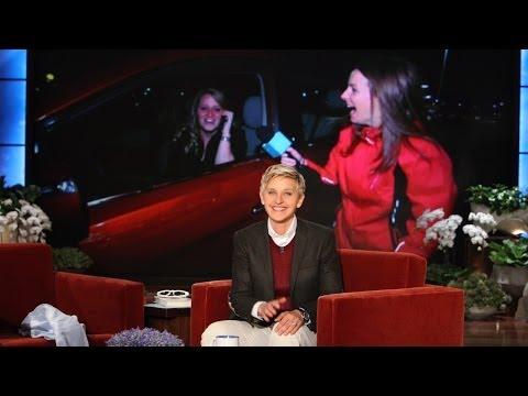 Ellen's Favorite Waitress Gets a Car