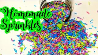 How to make Homemade Sprinkles