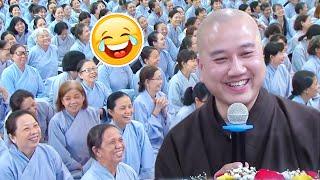 VẤN ĐÁP VUI Cười xỉu với câu hỏi rất HÀI HƯỚC dễ thương của Phật Tử - Pháp Thoại Thầy Thích Pháp Hoà
