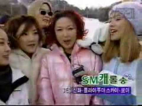 S.E.S & BoA Making a Music Video for SM TOWN