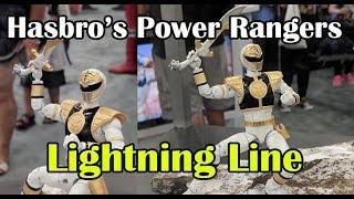 Hasbro's Power Rangers Lightning Figure Line Announced