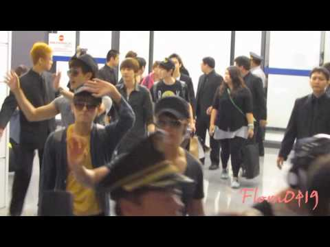 120907 Super Junior-M 桃園機場接機