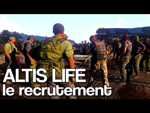 Arma 3 Altis Life : Le recrutement