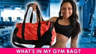 What's In My Gym Bag?  | Michelle Khare