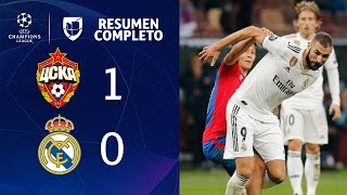 CSKA 1-0 Real Madrid - GOL Y RESUMEN - Grupo G UEFA Champions League