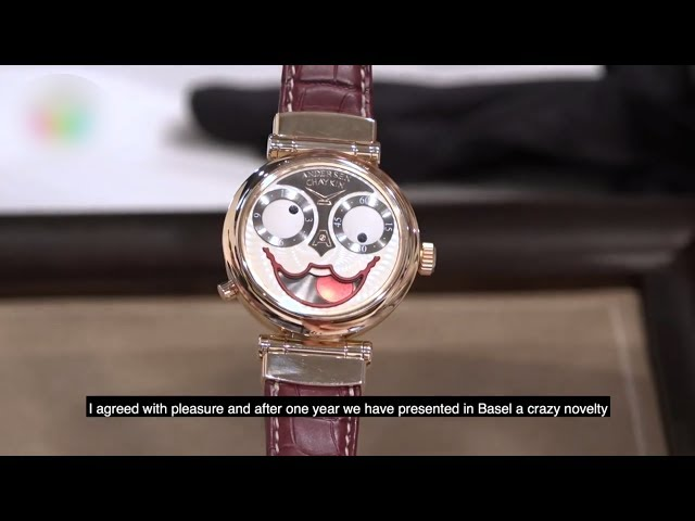 俄羅斯小丑錶 榮獲2018鐘錶界奧斯卡獎