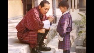 Tribute to HM 4th king of Bhutan