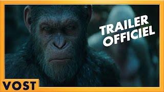 La planète des singes : suprématie :  bande-annonce VOST