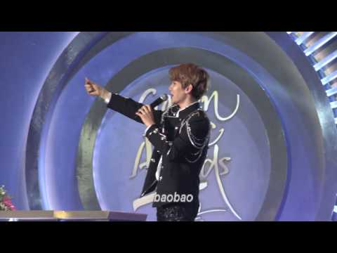 170114 Golden Disc Awards - Monster(encore), Baekhyun Focus 백현