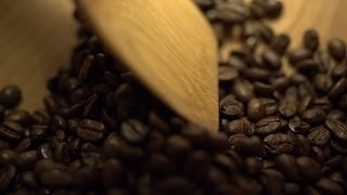 Beachfront B-Roll: Coffee Bean Mixing (Free to Use HD Stock Video Footage)