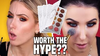I Tried Following a JACLYN HILL VAULT COLLECTION Makeup Tutorial... is it WORTH THE HYPE?!