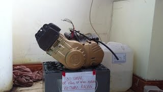 Tháo rã máy xipo SUZUKI SPORT RGV120 ( facebook 0909989034)