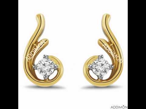 sparkling diamond earring