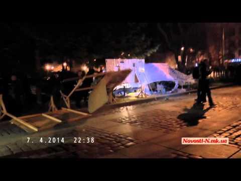Видео Новости-N: Полный снос палаток в Николаеве