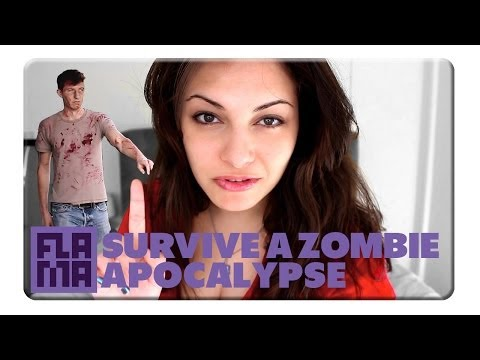 How To Survive A Zombie Apocalypse - DeniseVlogs - Smashpipe Comedy