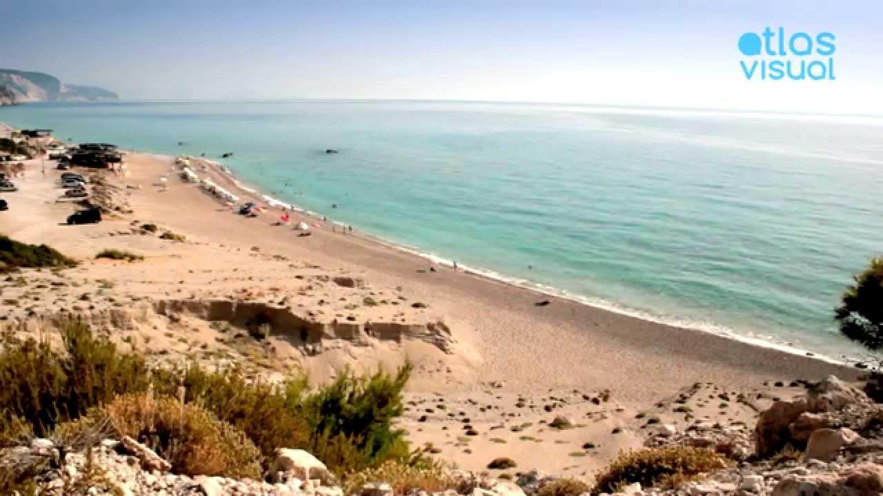 Lefkada Gialos beach
