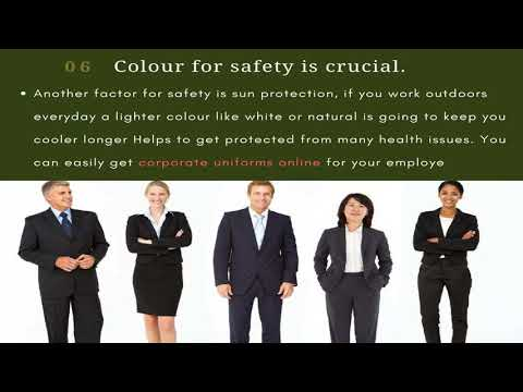 Corporate Uniform To Enhance Your Business Image