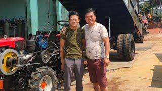 Công nông độ 4may, test thanh công  tại gara đông xuân, diện áo mới chuẩn bị xuất xưởng