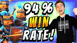 94% WIN RATE! EASIEST DECK in CLASH ROYALE!