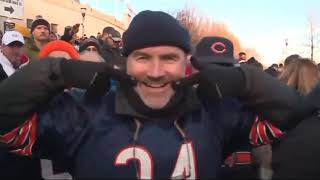 Bears fans 'partying like it's 1985' after win over Packers clinches division