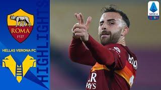Roma 3-1 Hellas Verona | Mancini, Mkhitaryan & Mayoral Keep Roma in 3rd Place! | Serie A TIM