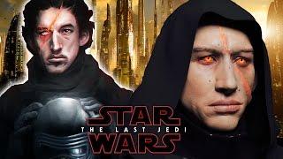 Kylo Ren's New Look - Star Wars Episode 8 The Last Jedi