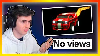 Reacting To Rocket League Videos With 0 VIEWS... (yikes)