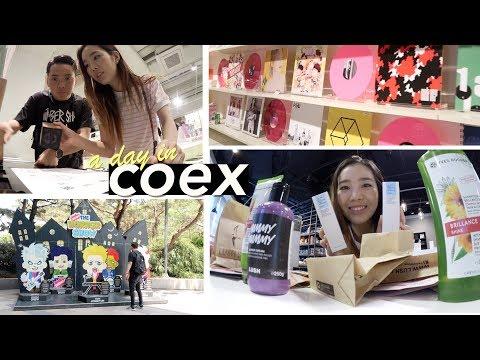 SM TOWN Coex Artium + DiaTV Beauty Zone!