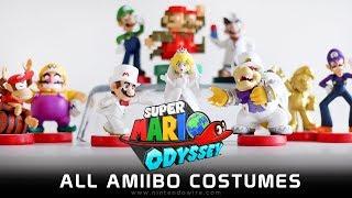 Unlocking All amiibo Costumes | Super Mario Odyssey