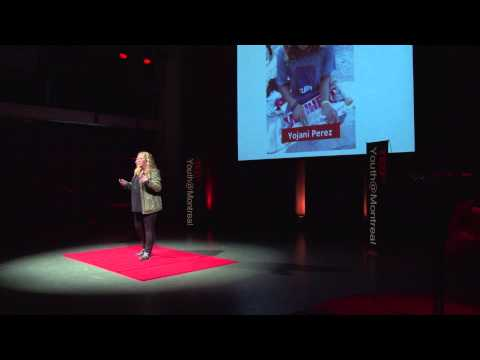 What If Skateboards Could Give Hope?: Betty Esperanza At TEDxYouth@Montreal - Smashpipe Nonprofit