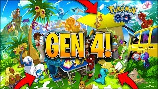 GENERATION 4 CONFIRMED IN POKÉMON GO! - YouTube