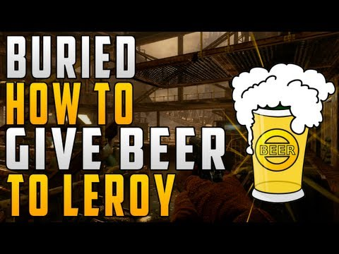 """HOW TO FIND & GIVE BEER (BOOZE) TO LEROY (HUCKLEBERRY)"" - ""Buried"" How Leroy Works! - Smashpipe Games"
