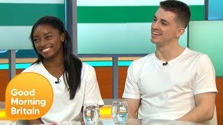 Gymnastics Stars Simone Biles and Max Whitlock Due to Perform at London's O2 | Good Morning Britain