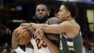 Cleveland Cavaliers vs Milwaukee Bucks Highlights - Week 4 - 2017 NBA Season