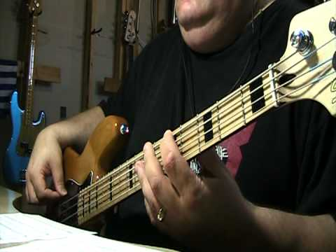 U2 With A Shout (Jerusalem) Bass Cover