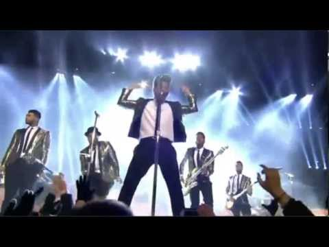 Baixar BRUNO MARS Super Bowl Show 2014 Treasure, and Locked Out Of Heaven 360p