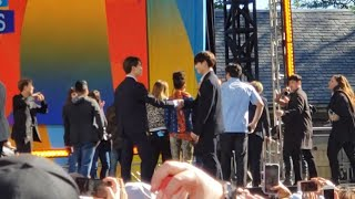 190515 BTS Ending (Jikook handshake!) @ Good Morning America GMA Summer Concert Series New York City