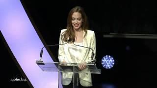 "Angelina Jolie "" Women in the World summit"""
