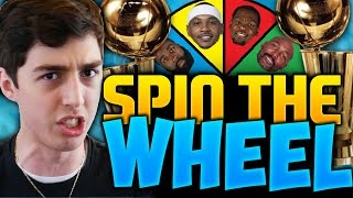 SPIN THE WHEEL OF NBA TEAMS WITHOUT A RING! NBA 2K16 SQUAD BUILDER