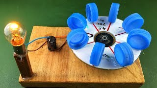 Electric Power Free Energy Generator With DC Motor 100% New Experiment Science Project at Home