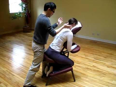 Thai Chair Massage 2 Youtube