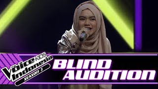 Kayla - Wild Things | Blind Auditions | The Voice Kids Indonesia Season 3 GTV 2018