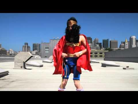 Alphyn Industries SOMA Jacket Vs. Wonder Woman man